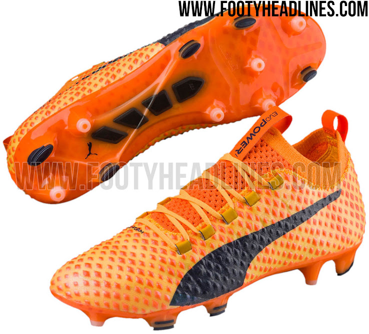 Chaussures Puma Orange
