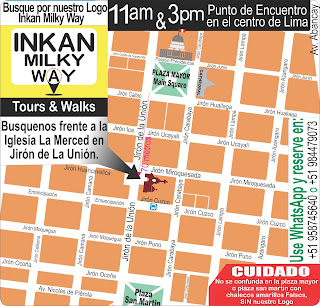 free walking tour lima a pie por la tarde