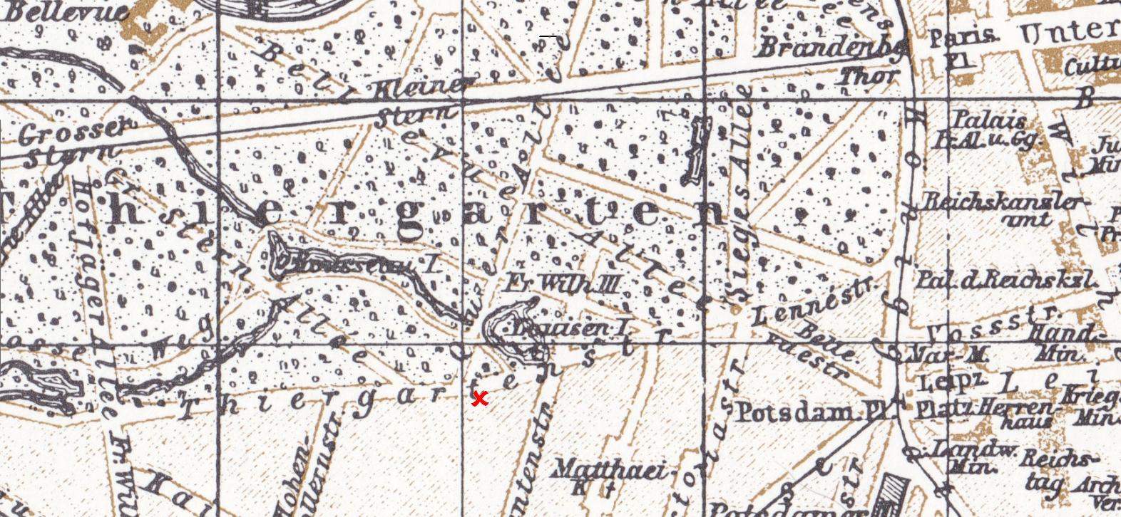 In der Karte