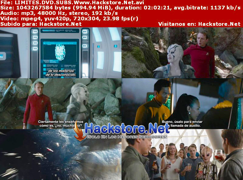 Capturas de Star Trek Sin Límites (2016) DVDRip Subtitulada