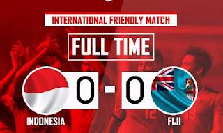 Indonesia vs Fiji Imbang 0-0