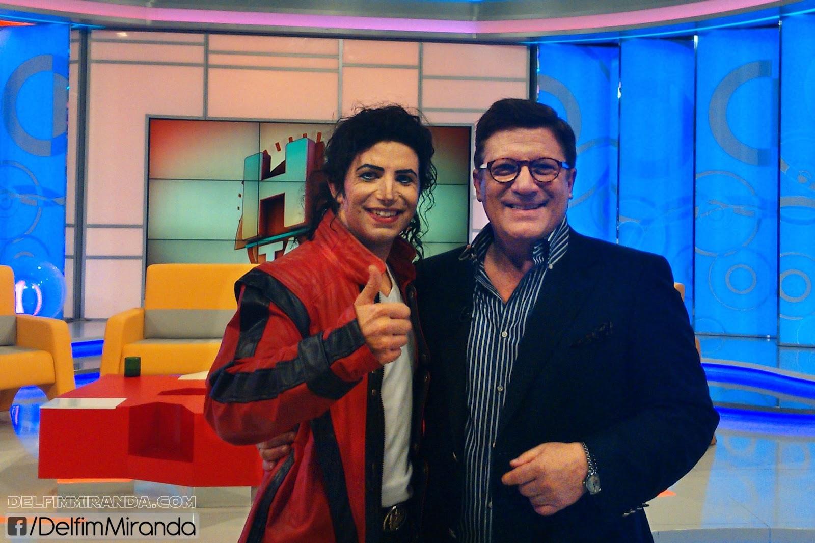 Delfim Miranda - Michael Jackson Tribute - With TV Legend Herman José - Há Tarde - RTP