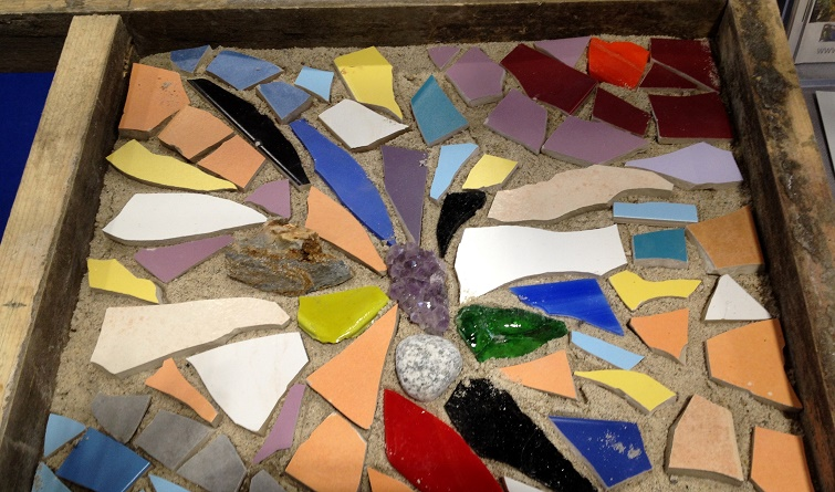 Gartendeko Mosaik selbermachen