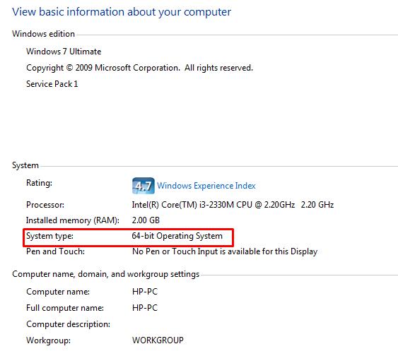 Cara Mengetahui OS Windows 7 32-bit atau 64-bit