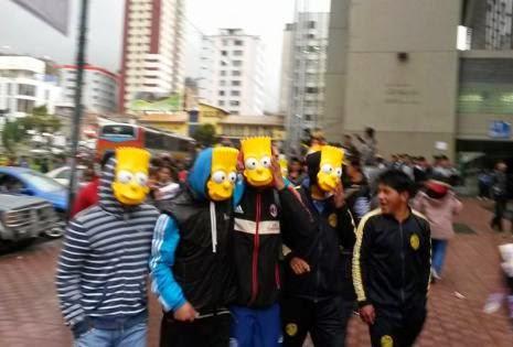 La movilización más numerosa se concentró en la ciudad de La Paz-cochabandido-blog