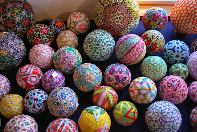 92-Year-Old Grandma 30 Years Of Embroidered Temari Balls
