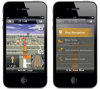 Navigon 2.0 Release Update for iPhone