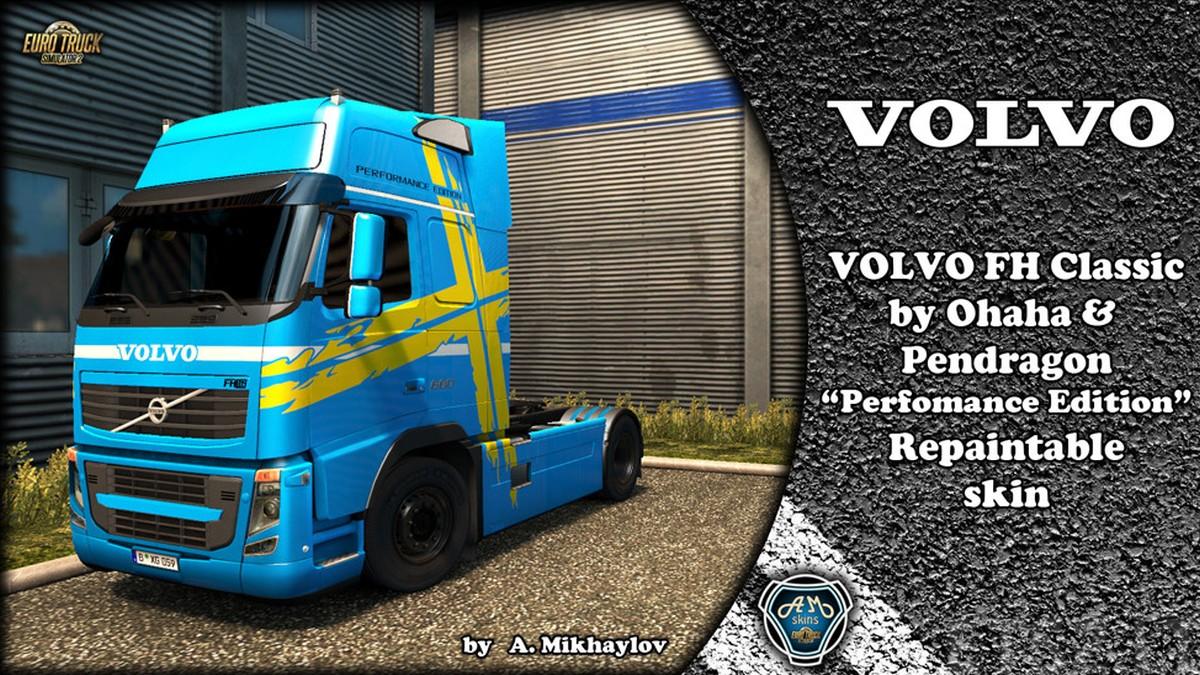 Volvo 2009 Perfomance Edition Skin