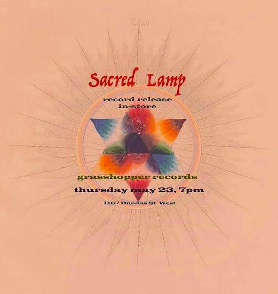 Sacred Lamp in-store @ Grasshopper Records, Thursday