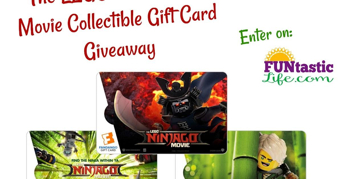 $50 Fandango The LEGO NINJAGO Movie Collectible Gift Card Giveaway ...