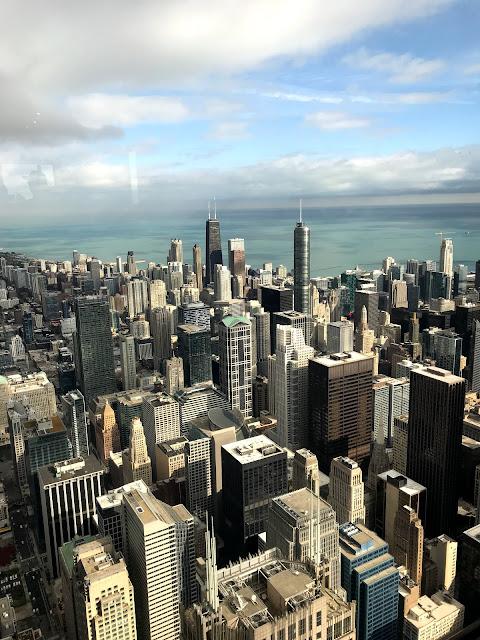 sky deck view