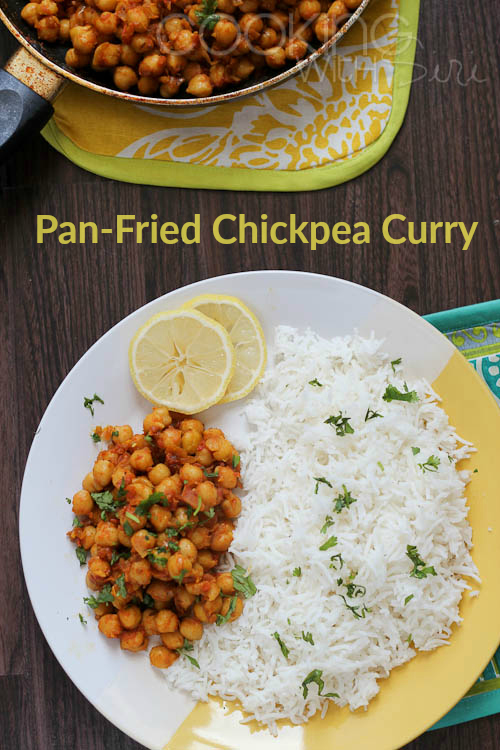 Tawa Chana Recipe Pan-Fried Chickpea Curry