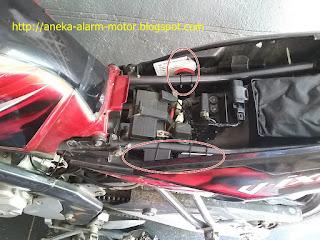 Cara pasang alarm motor pada Yamaha Vixion Old