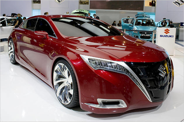 highlight automotive news: suzuki kizashi