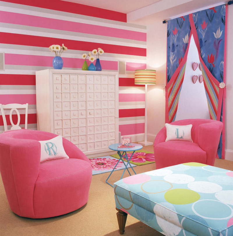 Little Girl Bedroom Color Ideas: 20 Little Girl's Bedroom Decorating Ideas