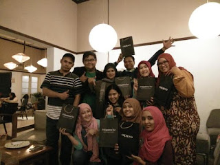 Team OPPO dan BloggerBDG