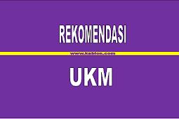 Rekemendasi UKM Untuk Pemula