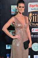 Lerisa Bonisa in a Sleeveless Deep neck Golden Gown ~  Exclusive 027.JPG