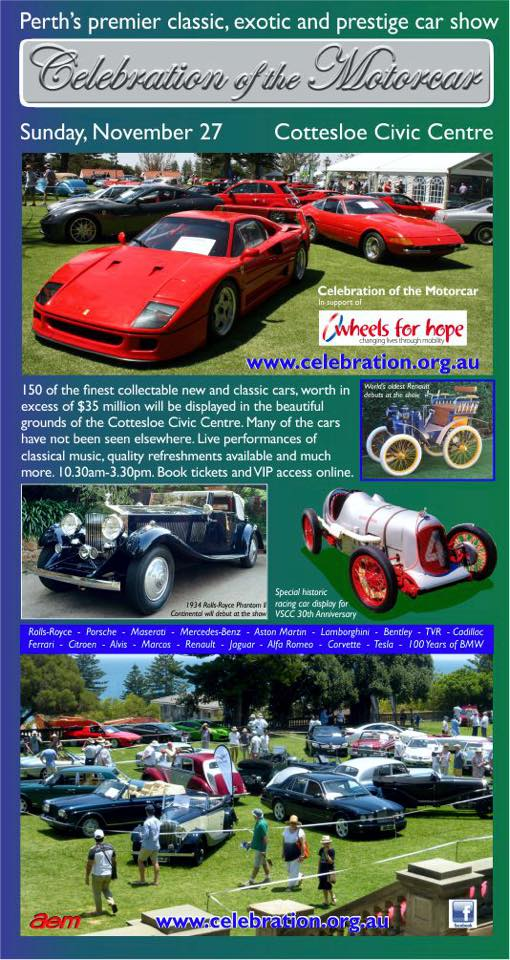 Heinkel Scooter Project: Classic Car Events in Perth 2016