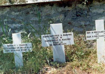 Η Σφαγή του Μελιγαλά στις 13, 14 και 15 Σεπτεμβρίου 1944