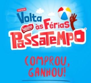 Cadastrar Promoção Passatempo Nestlé Comprou Ganhou Volta às Férias 2017 2018