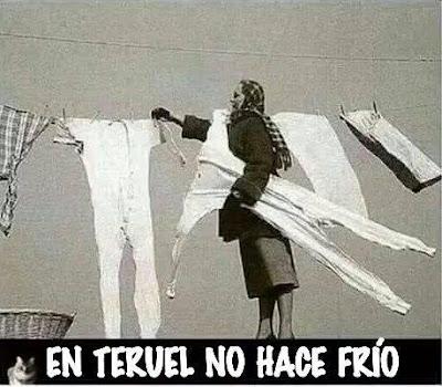 En Teruel no hace frío