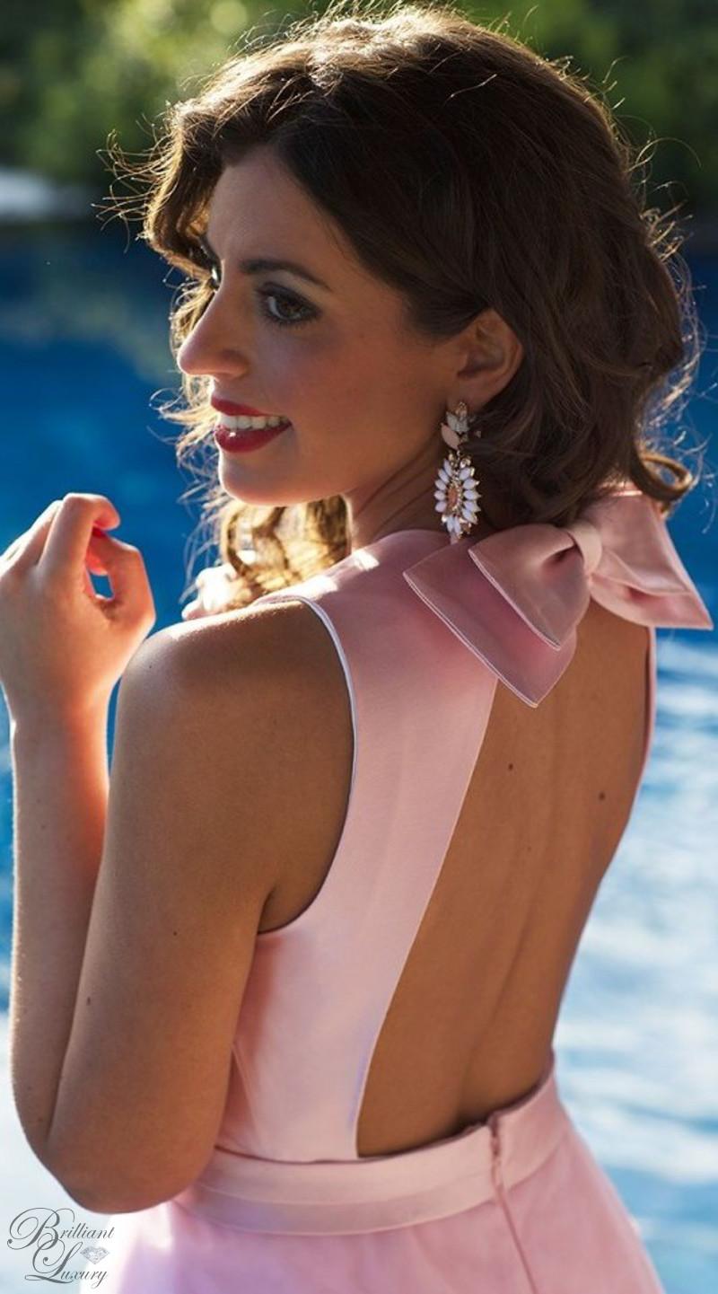 Brilliant Luxury ♦ Silvia Navarro pink Petunia dress
