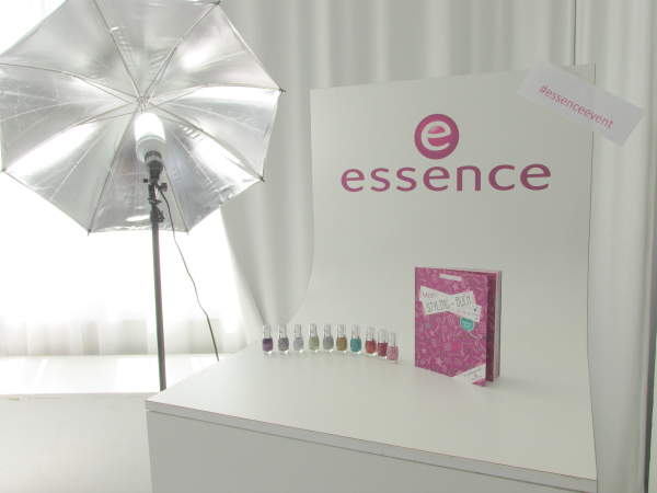 essence Bloggerevent München 2014 Display Neuheiten