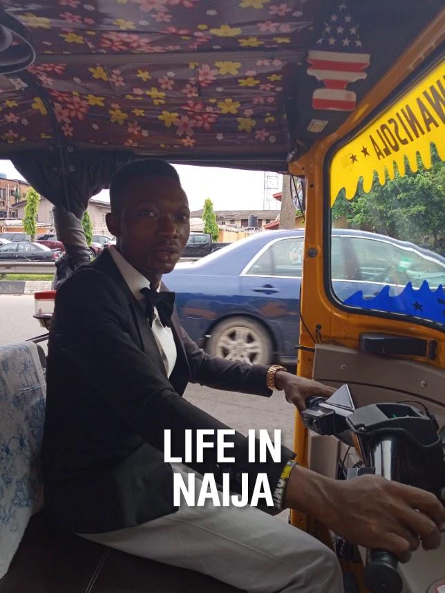 See Keke Rider who makes N8,000 per day.