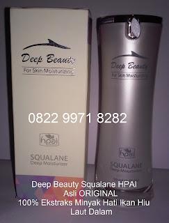 Deep beauty squalane serum asli penghilang keriput pemutih wajah original