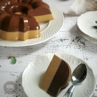 Ide Resep Membuat Keto Puding Santan Cokelat Kopi