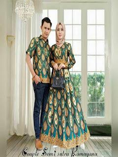 model baju batik pesta seragam