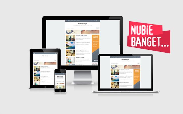 Download Template Nubie Banget Responsive dan SEO Friendly