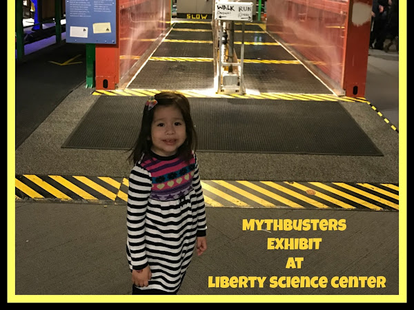 Family Fun At The New MythBusters Exhibit at Liberty Science Center #MTMyth