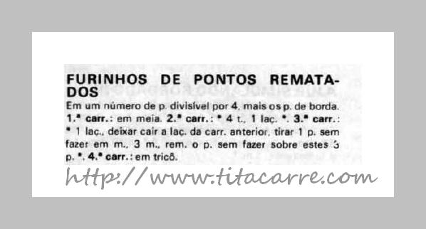 6d798aa1eb2bd Tita Carré Agulha e Tricot   Gorro com ponto furinho em tricot