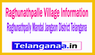 Raghunathpalle Village in Ragunathpally Mandal Jangaon District Telangana