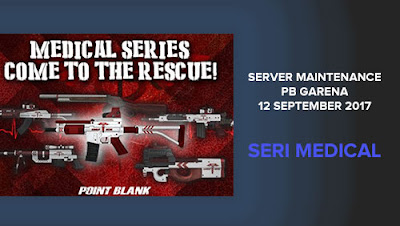 Informasi Detail tentang Server Maintenance PB Garena 12 September 2017 Medical Series Come To The Rescue