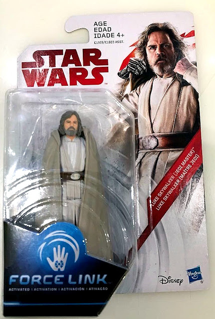 Hasbro Star Wars The Last Jedi Luke Skywalker Jedi Master action figure 1