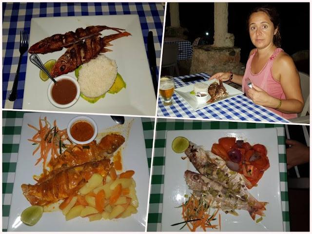 Paraíso Caño Hondo restaurante cena