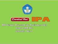 Perangkat Pembelajaran IPA Kurikulum 203 Kelas 8 SMP/MTs