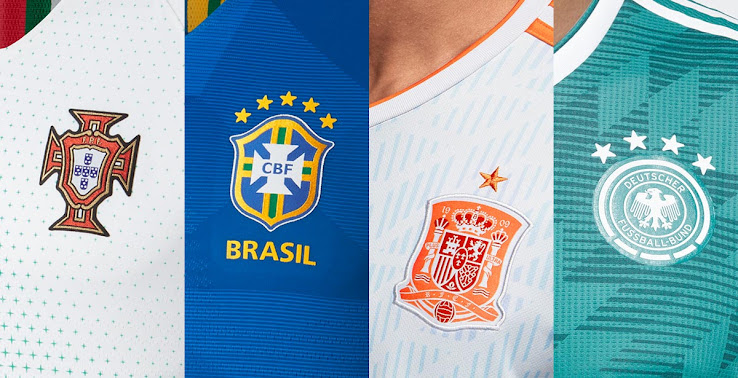 949fb26917c7 2018 World Cup Kit Overview - All 2018 World Cup Jerseys - Footy ...