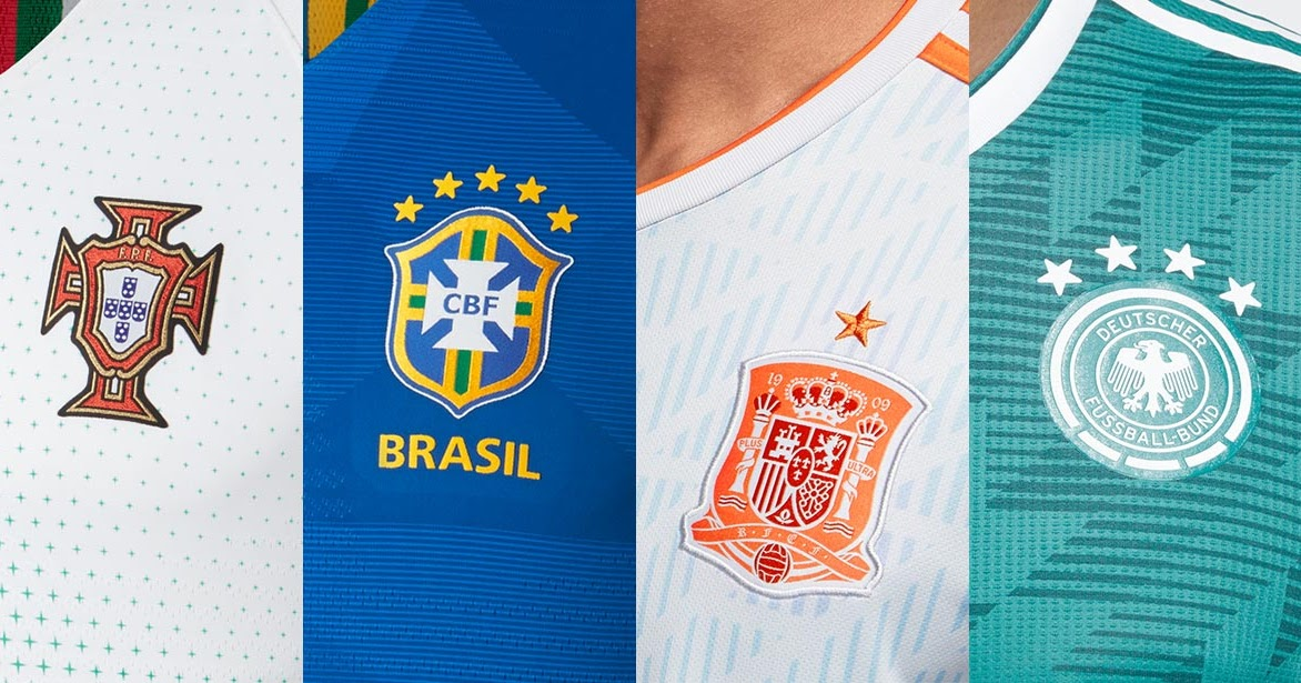 89d3c33ed87 2018 World Cup Kit Overview - All 2018 World Cup Jerseys - Footy ...
