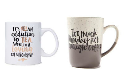 Cute Mugs from Cottonon and Typo