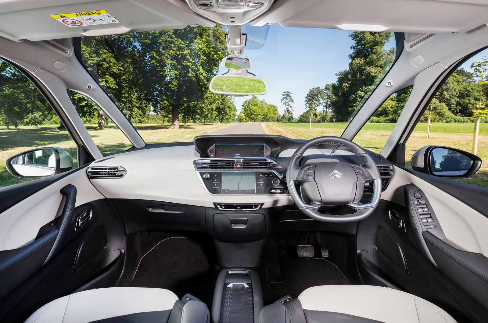citroen s updated c4 picasso grand c4 picasso launched. Black Bedroom Furniture Sets. Home Design Ideas