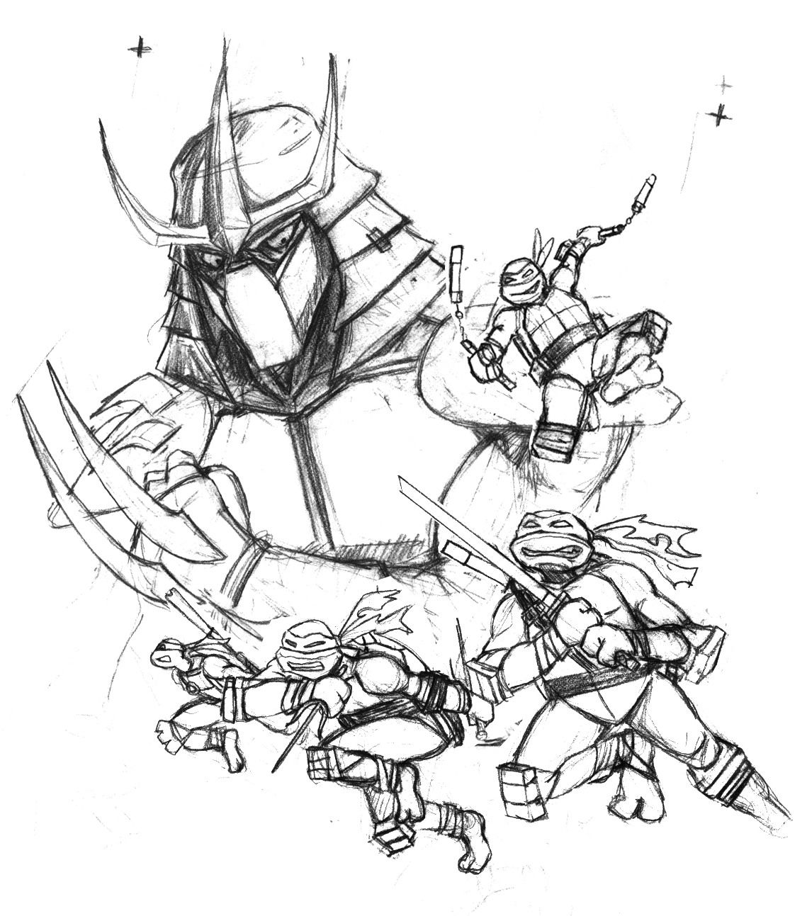 Dave Song S Illustrations Threadless Teenage Mutant Ninja