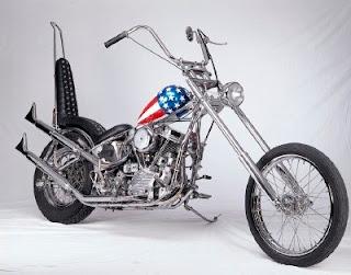 kombinasi size velg dan ban pada motor custom chopper