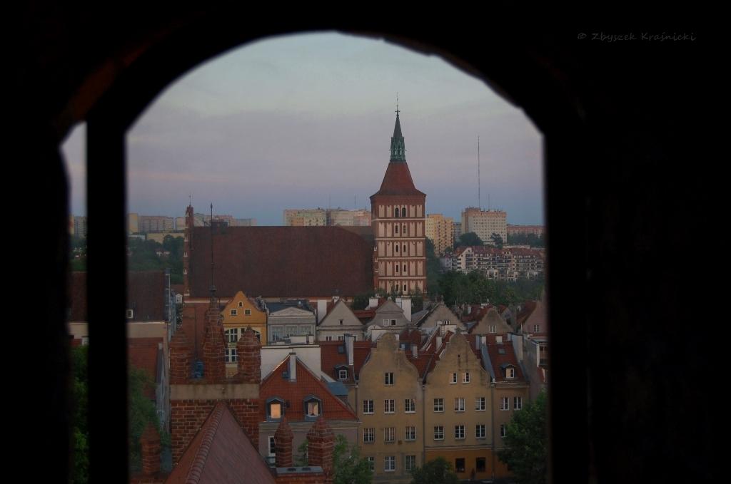 Olsztyn, widok z zamkowej wieży