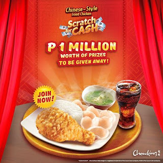 Chowking promo, contest, Philippines contest
