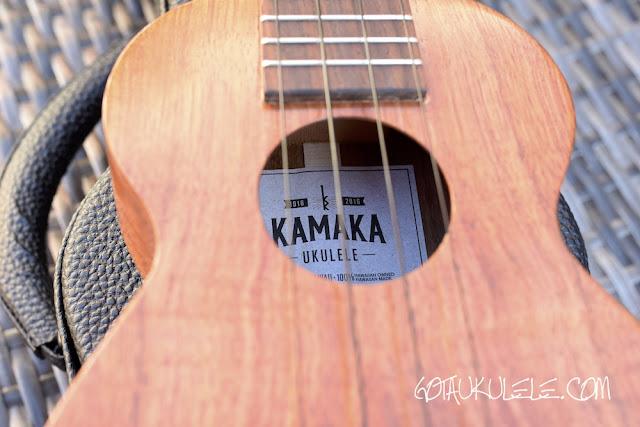 Kamaka HF-1 Standard Ukulele sound hole