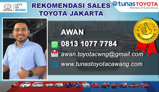 Rekomendasi Sales Tunas Toyota Dewi Sartika Jakarta Timur